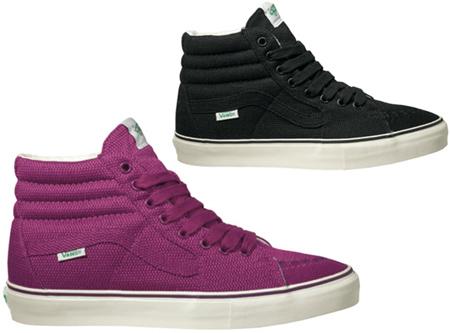 Vans Vault Messenger Pack - Black & Purple