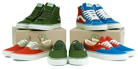 Vans Vault Spring 2009 - Sk8-Hi LX & Authentic LX