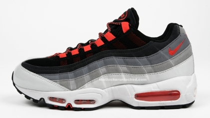 Nike Air Max 95 BlackNeutral BlueOrangeGrey | SneakerFiles