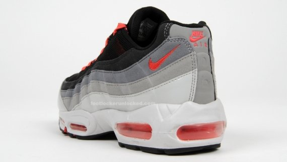 Nike Air Max 95 Black Hot Red Grey | SneakerFiles