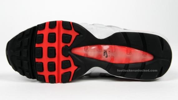 Nike Air Max 95 - Black / Hot Red / Grey