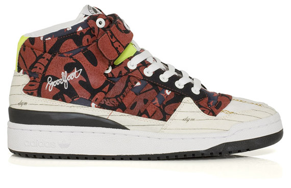 adidas Consortium 3Way Project Group 2 - DQM, Undftd, HUF & Goodfoot