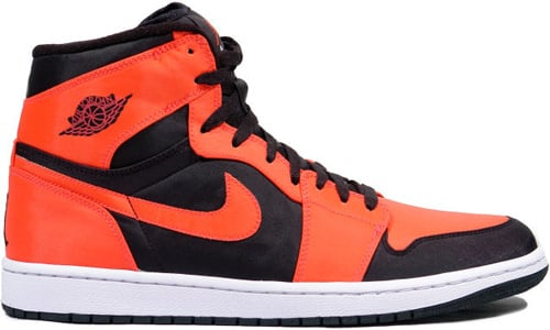 Air Jordan 1 (I) Retro High Black / Max Orange - White