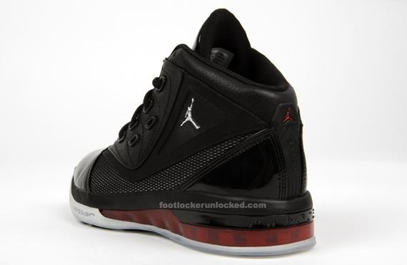 Air Jordan 16,5 Negro Y Rojo