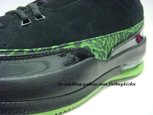 Air Jordan 2.5 Low - Black / Green
