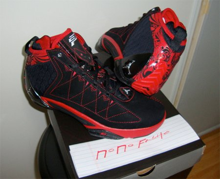 Air Jordan CP3 II - Black / Red
