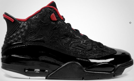 Air Jordan Dub Zero Black Varsity Red White Detailed Pictures 70%OFF ... 7d6d00858459