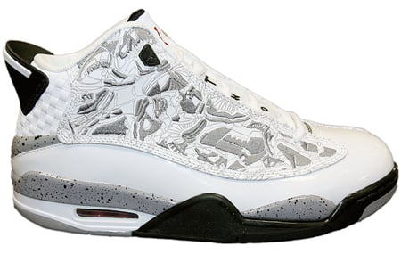 san francisco 30a7e 95807 30%OFF Air Jordan Dub Zero White Varsity Red Black Cement Grey   Released  Early