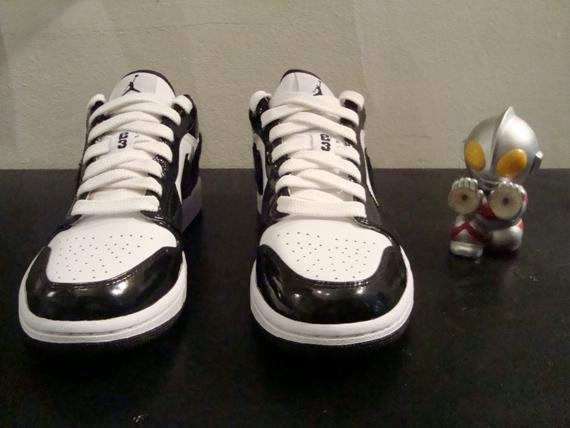 Air Jordan I (1) Low Sample - Tuxedo