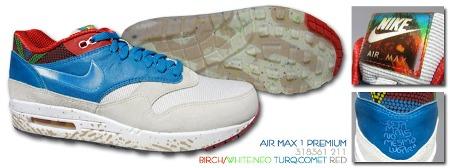 Nike Air Max 1 Premium QS - Brazil