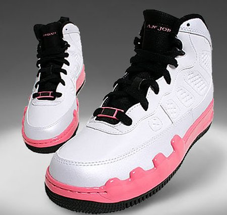 18d7d677669105 Air Jordan Force Fusion IX (9) Dear Mama GS - White   Coral Chalk ...