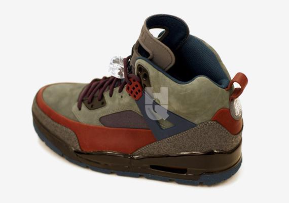 Air Jordan Spizike Boot Sample
