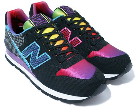 atmos x New Balance CM996 AB - Black / Rainbow