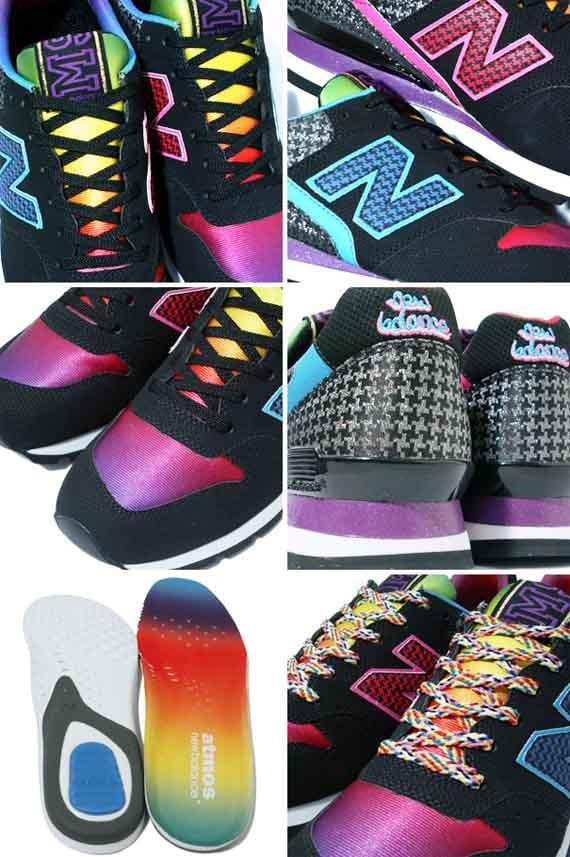 atmos x New Balance CM996 AB - Black / Rainbow