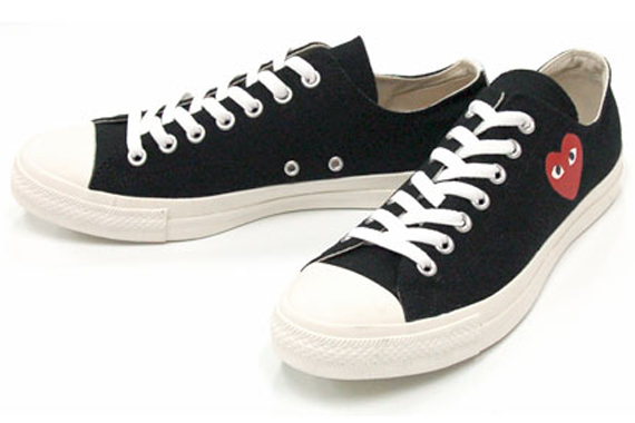 Comme des Garcons PLAY x Converse Chuck Taylor Released