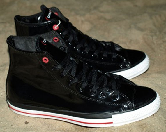 Converse (RED) Chuck Taylor High x Lupe Fiasco
