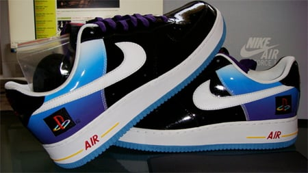 Nike Air Force 1 Playstation 2 10th Anniversary - Auction For Charity