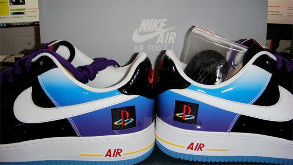 timeless design 5c573 7dc5f Nike Air Force 1 Playstation 2 10th Anniversary - Auction For Charity