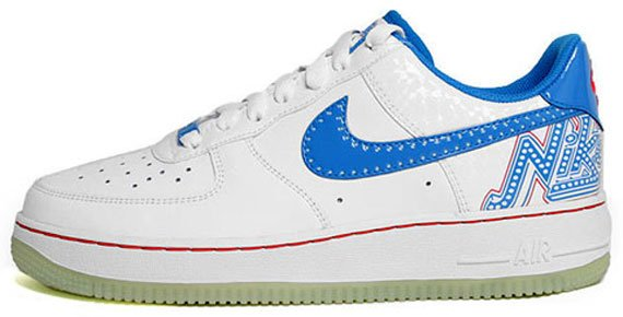 Nike Air Force 1 Premium GS - Glow In the Dark