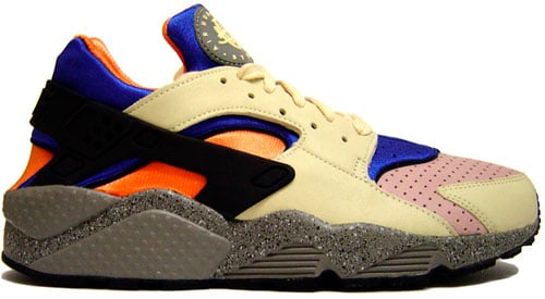 classic fit d6dc7 e7b59 Nike Air Huarache 1991 History | SneakerFiles