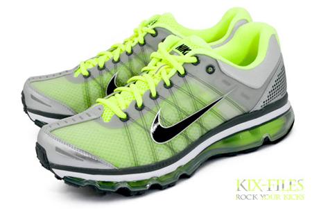 Nike Air Max+ 2009 - Neutral Grey / Volt