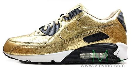 Nike Air Max 90 20th Anniversary - Metallic Gold / Black