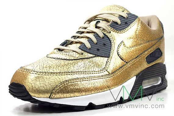best Nike Air Max 90 20th Anniversary Metallic Gold Black ... d827b6ed72e6