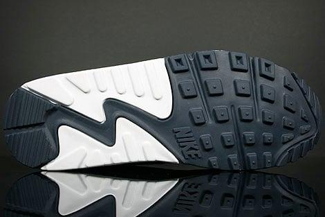 Nike Air Max 90 - White / Varsity Royal - Obsidian