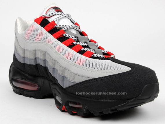Nike Air Max 95 Chili Red September Release  bad2a81f486b