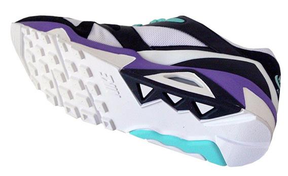 Nike Air Structure Triax - White / Purple / Aqua