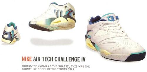 Nike Air Tech Challenge IV (4) 1991 | SneakerFiles