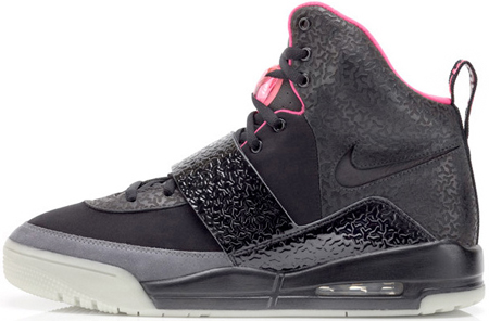 Nike Air Yeezy - Black / Pink | Detailed View
