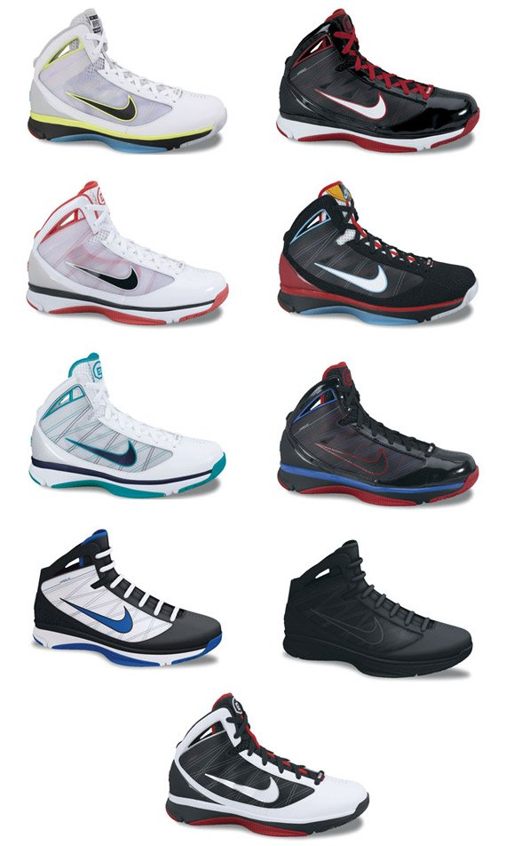 8d7a8521af13 Nike Basketball Fall   Winter 2009 Preview