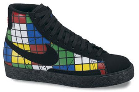 Nike Blazer GS - Rubik's Cube