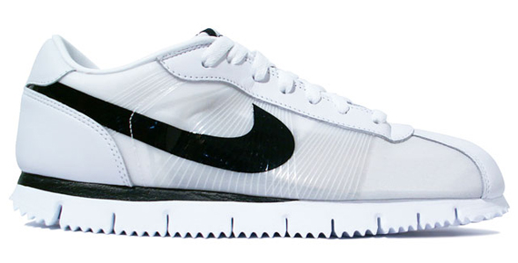 release date: b5980 6f7ed Nike Cortez Fly Motion - White   Black