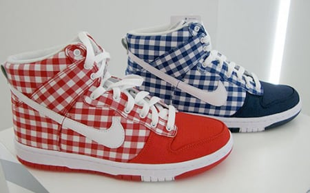 Nike Sportswear Dunk High Skinny Checker Pack | Fall 2009