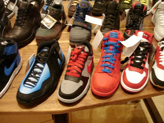 Осенне-зимняя коллекция обуви Nike, обувь оптом украина шанель резиновые...