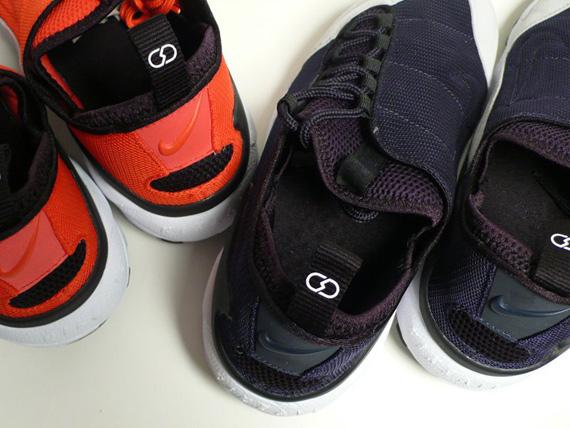 fragment design x Nike Sportswear Air Footscape HF TZ   Detailed Look