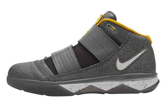 Nike Lebron Zoom Soldier III (3) - Grey / Yellow
