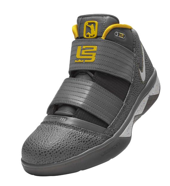 Nike Lebron Zoom Soldier III (3) - Grey / Yellow