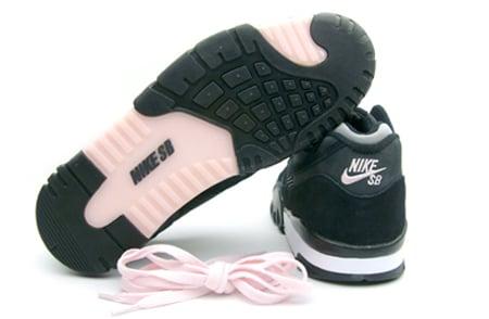 88a8d5fd637 Nike SB Air Trainer 2 - Black   White - Pink