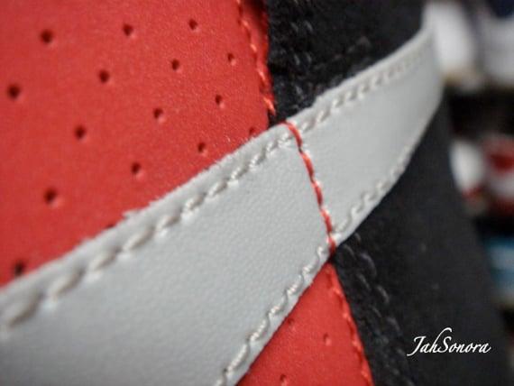 Nike SB Dunk High Sample - Black / Red   September 2009