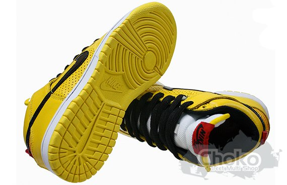 Nike SB Dunk High - Yellow / Black