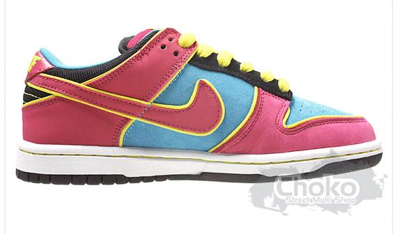 Nike SB Dunk Low - Sky / Pink