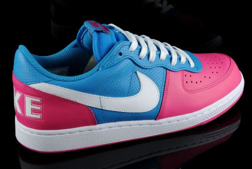 Nike Terminator Low - Pink / Blue & Turquoise / Purple
