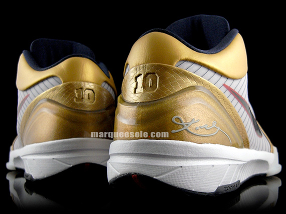 Nike Zoom Kobe IV (4) - Gold Medal