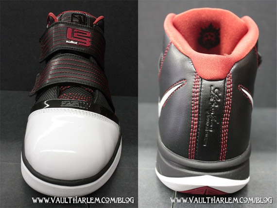 Nike Zoom Lebron Soldier III (3) - Black / White / Varsity Red   Now Available