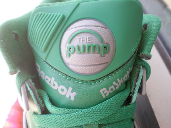 Reebok Pump Omni Lite - Glen Green / Carbon Hope