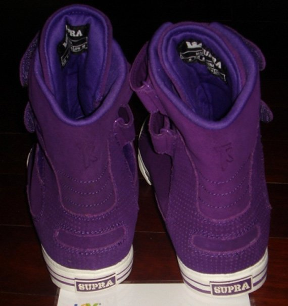 Supra TK Society Purple Suede | Detailed Look