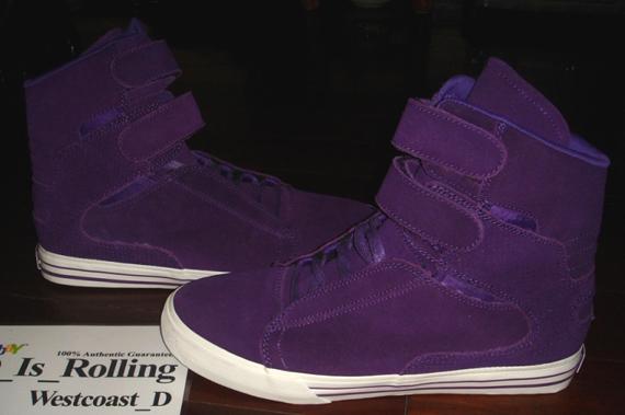 38c6715d5886 Supra TK Society Purple Suede